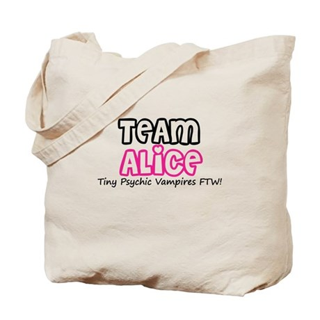 Team Alice Twilight Tote Bag