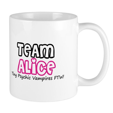 Team Alice Twilight Mug