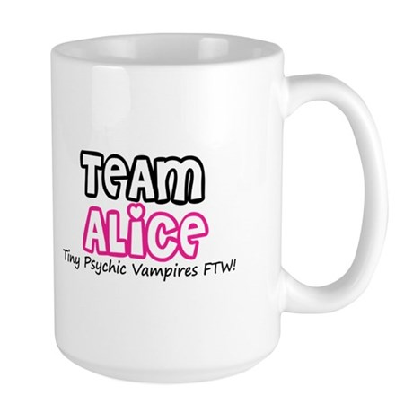 Team Alice Twilight Large Mug