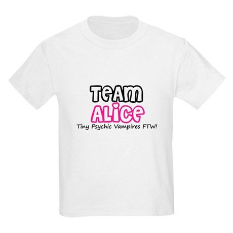 Team Alice Twilight Kids Light T-Shirt