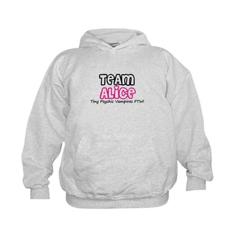 Team Alice Twilight Kids Hoodie