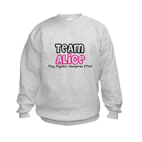 Team Alice Twilight Kids Sweatshirt