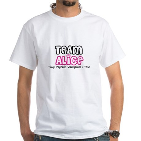 Team Alice Twilight White T-Shirt