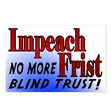 Impeach Frist Postcards (Package of 8)