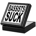 Bassists Suck Keepsake Box