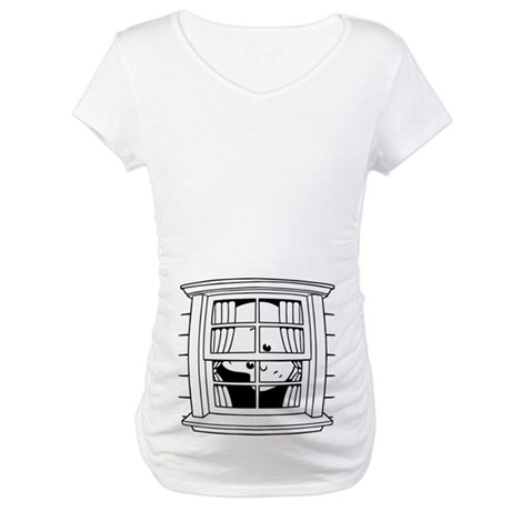 Bedwomb Window Maternity T-Shirt