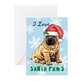 Holiday Shar-Pei Greeting Cards (Pk of 10)