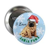 "Holiday Shar-Pei 2.25"" Button"