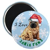 Holiday Shar-Pei Magnet