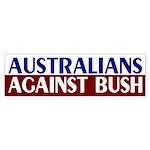 Australians Against Bush (bumper sticker)