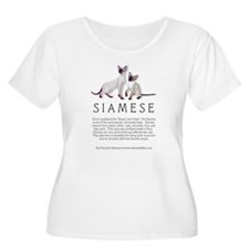 Siamese Breed Info 2 T-Shirt