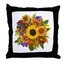 Autumn Bouquet Throw Pillow