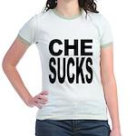Che Sucks Jr. Ringer T-Shirt