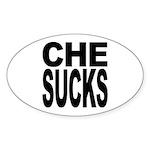 Che Sucks Oval Sticker (10 pk)