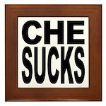 Che Sucks Framed Tile