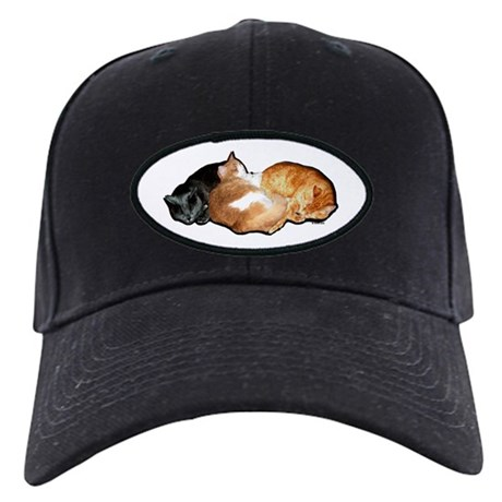 Sleeping Cats Black Cap