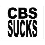CBS Sucks Small Poster