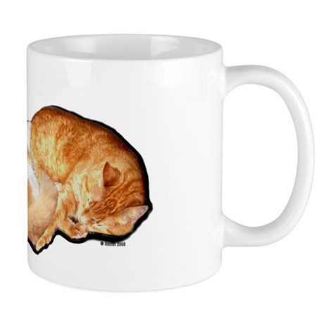 Sleeping Cats Mug