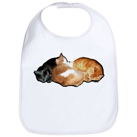 Sleeping Cats Bib