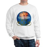 Dragonfly Flower Sweatshirt