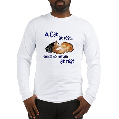 Laws of Physics Cats Long Sleeve T-Shirt