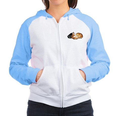 Laws of Physics Cats Women's Raglan Hoodie