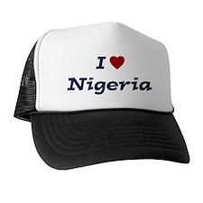 I HEART NIGERIA Trucker Hat