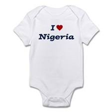 I HEART NIGERIA Infant Bodysuit