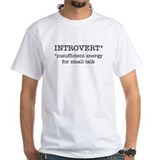 INTROVERT insufficient energy Custom Shirt