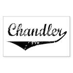 Chandler Rectangle Sticker