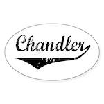 Chandler Oval Sticker