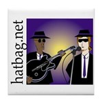 'Hatbag Blues' Tile Coaster