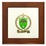 DUBOIS Family Crest Framed Tile