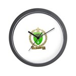 DUBOIS Family Crest Wall Clock