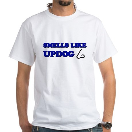 Smells Like Updog White T-Shirt