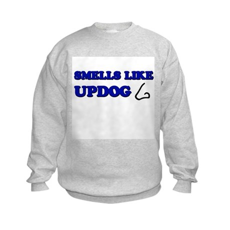 Smells Like Updog Kids Sweatshirt