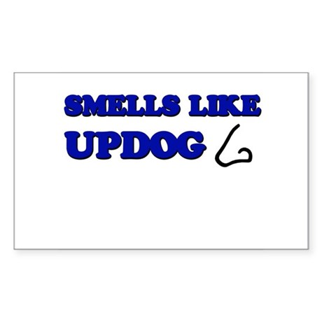 Smells Like Updog Rectangle Sticker