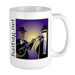 'Hatbag Blues' Large Mug