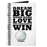Dream Big Volleyball Journal