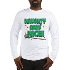 NAUGHTY AND NICE! Long Sleeve T-Shirt