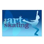 Figure Skating Postcards (Package of 8)