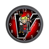 Cute Mario Wall Clock