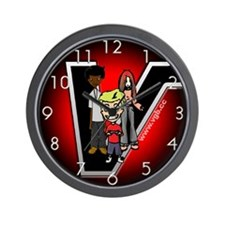 Cool Videogames Wall Clock