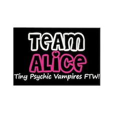 Team Alice Twilight Rectangle Magnet