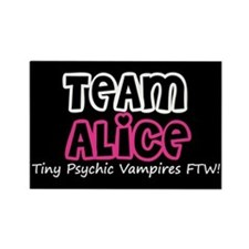 Team Alice Twilight Rectangle Magnet (100 pack)