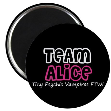 "Team Alice Twilight 2.25"" Magnet (10 pack)"