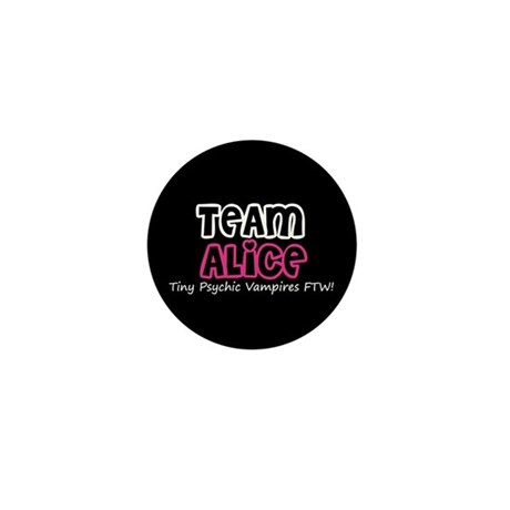 Team Alice Twilight Mini Button (100 pack)
