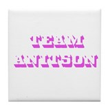 Team Jennifer Aniston Tile Coaster