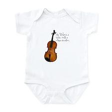 The Glorious Viola Infant Creeper