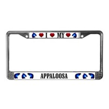 Appaloosa License Plate Frame